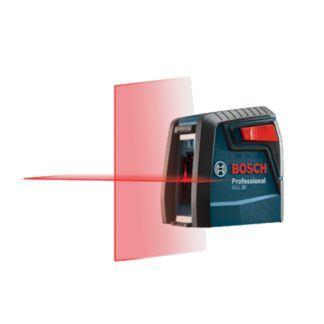 Bosch GLL 30 S Self-Leveling Cross-Line Laser