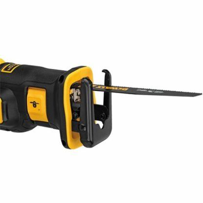 DeWalt DCS367B 20V Max XR Brushless Compact Reciprocating Saw Close Up 1