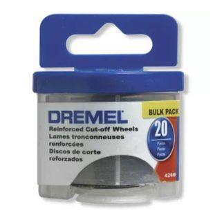 """Dremel 426B 1-1/4"""" Fibreglass Reinforced Cut-Off Wheels 20-Pack"""