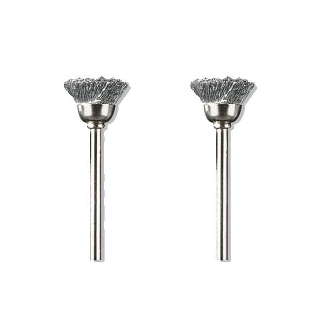 Dremel 442-02 Carbon Steel Brush 2-Pack