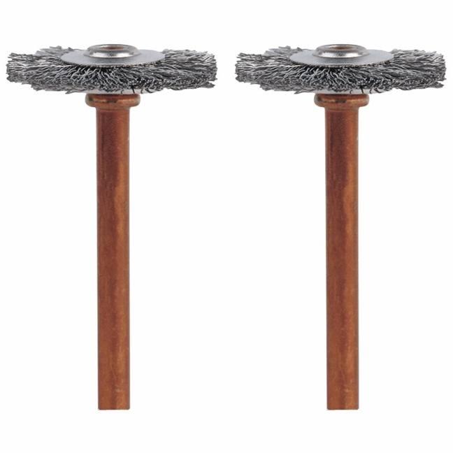 Dremel 530-02 Stainless Steel Brushes 2-Pack