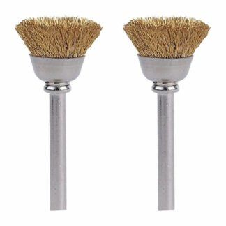 Dremel 536-02 Brass Brushes 2-Pack