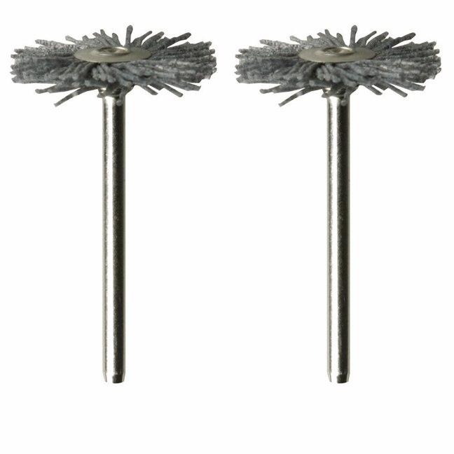 Dremel 538-02 Nylon Brushes 2-Pack