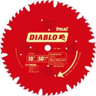 "Freud D1050X 10"" x 50T Combination Blade"