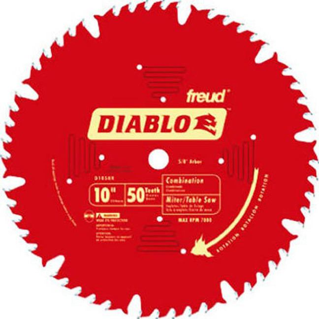 "Freud D1050X 10"" x 50T Combination Blade"