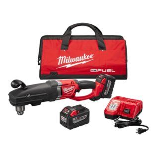 "Milwaukee 2709-22HD M18 FUEL SUPER HAWG 1/2"" Right Angle Drill High Demand Kit"
