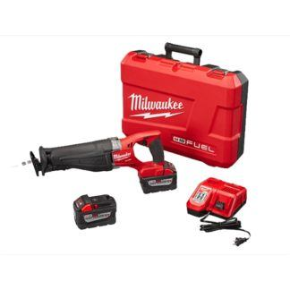 Milwaukee 2720-22HD M18 FUEL SAWZALL Reciprocating Saw High Demand Kit