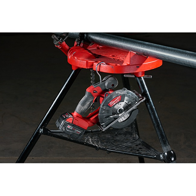 Milwaukee 2782-20 M18 FUEL Metal Cutting Circular Saw In Use 7