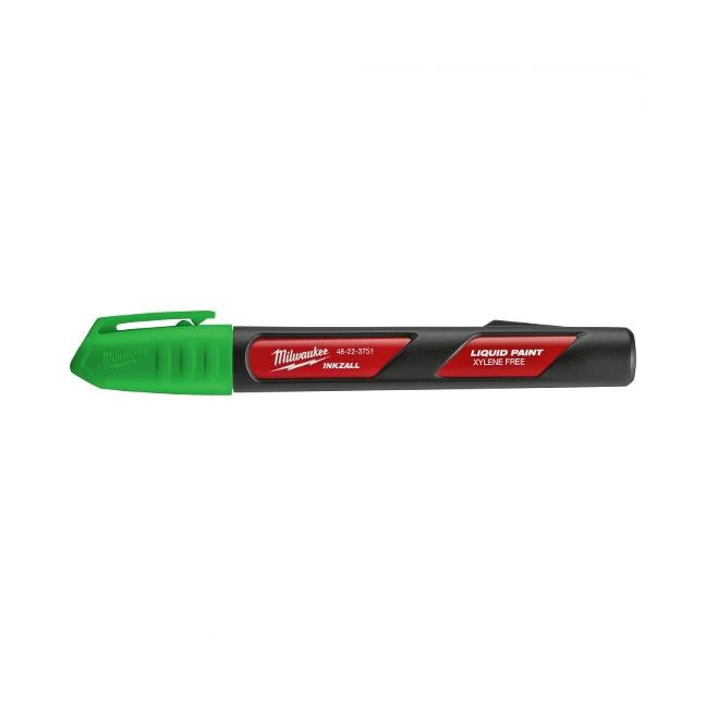 Milwaukee 48-22-3751 INKZALL Green Paint Marker - 12pk