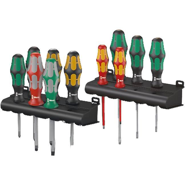wera 347106 kraftform xxl 3 11pc screwdriver set bc fasteners. Black Bedroom Furniture Sets. Home Design Ideas