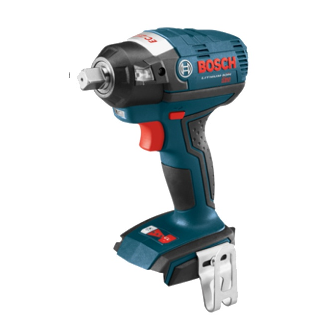 "Bosch IWBH182B 18V EC Brushless 1/2"" Square Drive Impact Wrench with Detent Pin"