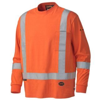 Pioneer 339SFA Flame Resistant Long-Sleeved Cotton Safety Shirt