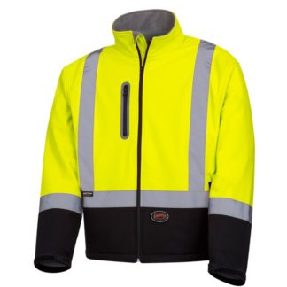 Pioneer 5689 Softshell Mechanical Strength Safety Jacket