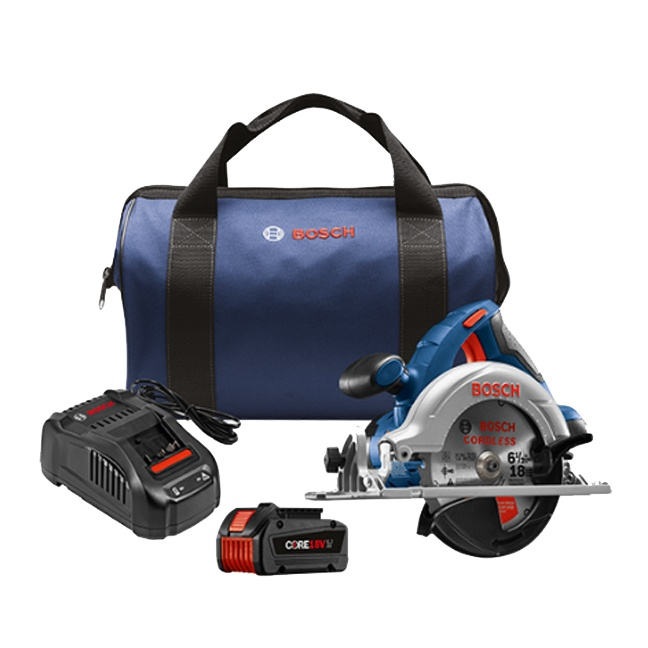 "Bosch CCS180-B14 18V 6-1/2"" Circular Saw Kit"