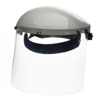 Sellstrom S30120 Single Crown Face Shield with Window & Ratcheting Headgear