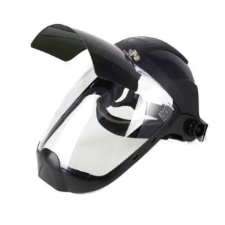 Sellstrom S32251 Face Shield with Flip Up IR Window & Ratcheting Head Gear