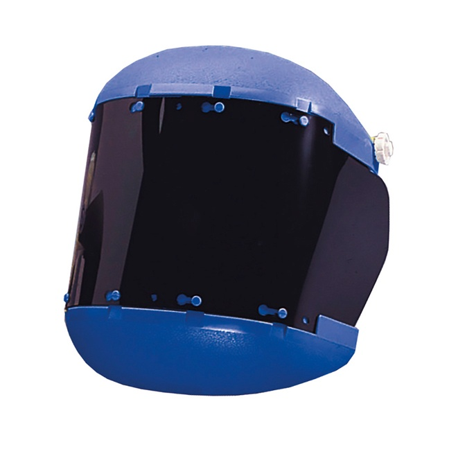 Sellstrom S38150 Dual Crown Face Shield with Ratcheting Headgear