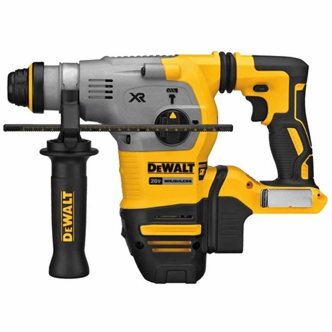 "DeWalt DCH293B 20V Max XR 1-1/8"" Brushless L-Shape Rotary Hammer"