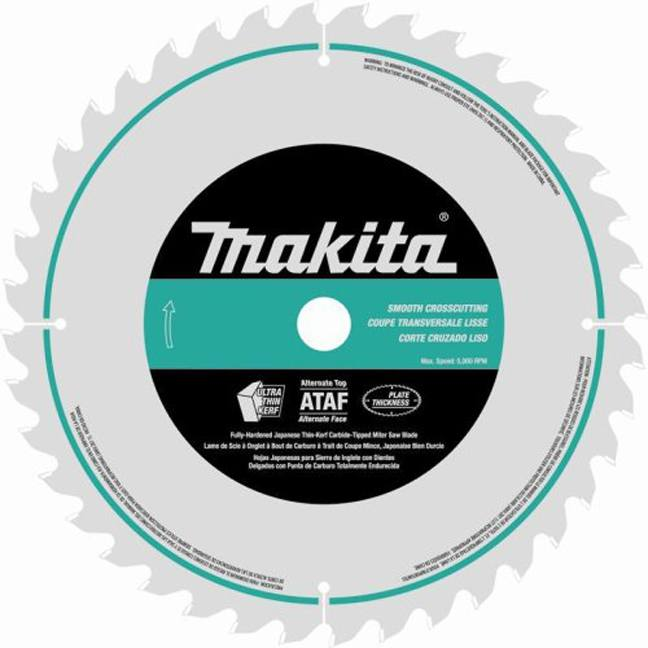 "Makita A-93728 12"" 80T Micro Polished Mitre Saw Blade"