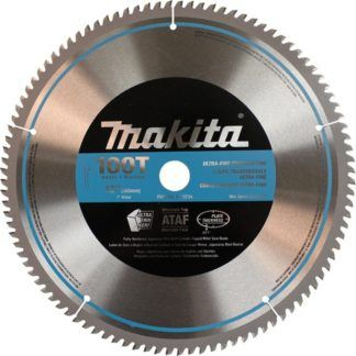 "Makita A-93734 12"" 100T Micro Polished Mitre Saw Blade"