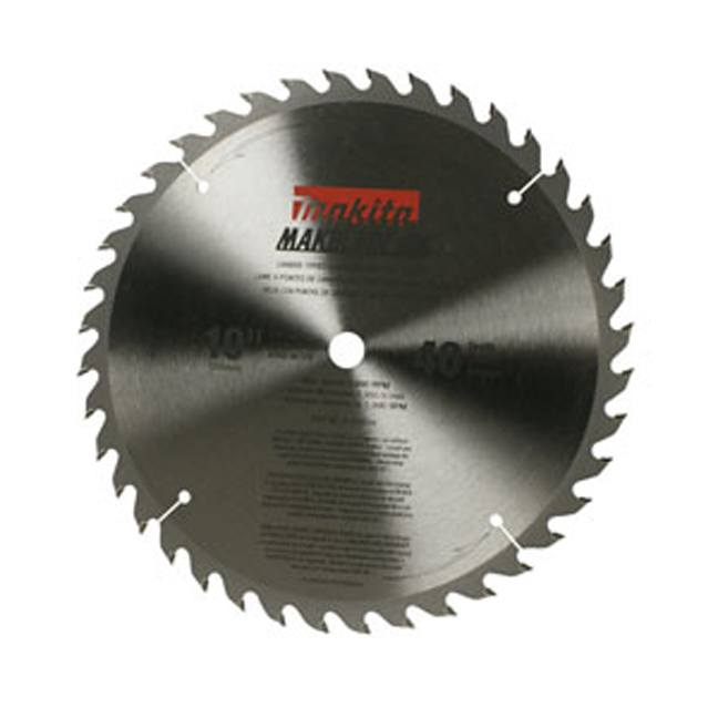 "Makita A-94459 10"" 40T General Purpose Table Saw Blade"