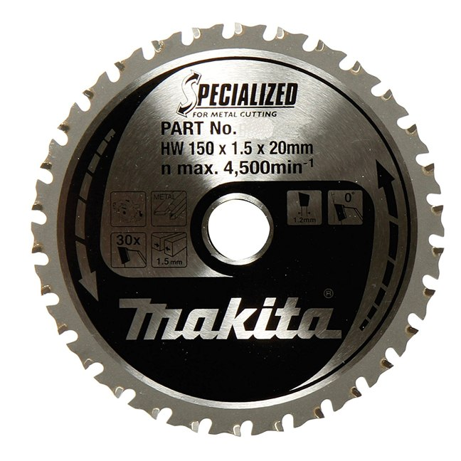 "Makita A-96095 5-7/8"" 32T Carbide General Purpose Saw Blade"