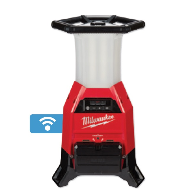 Milwaukee 2150-20 M18 RADIUS LED Site Light & Charger with ONE-KEY