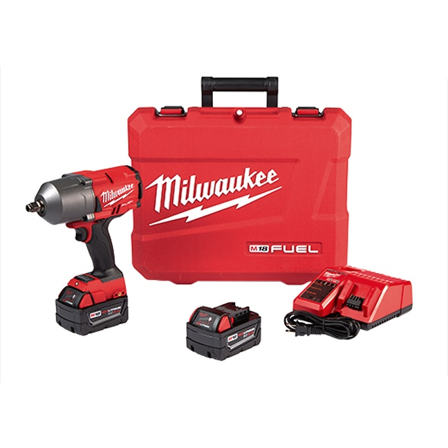 """Milwaukee 2767-22 M18 FUEL High Torque 1/2"""" Impact Wrench with Friction Ring Kit"""