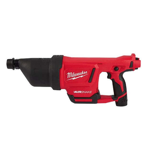 Milwaukee 2572A-21 M12 AIRSNAKE Drain Cleaning Air Gun