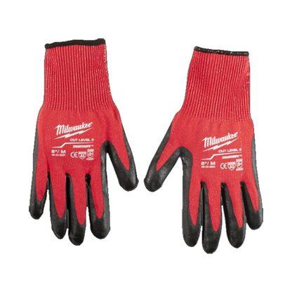 Milwaukee 48-22-8931 Cut Level 3 Dipped Gloves - Medium