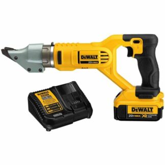 Dewalt DCG494M2 20V Max 14GA Swivel Head Shear Kit