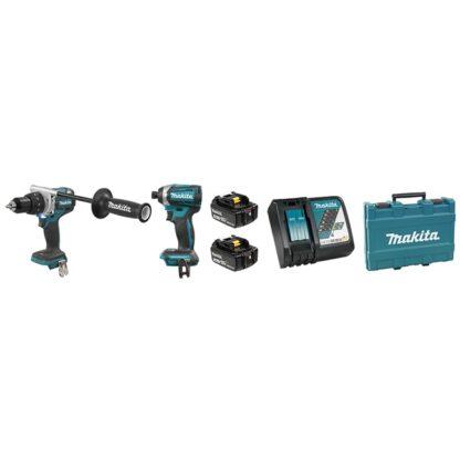Makita DLX2175T 18V Drill & Impact Driver Combo Kit