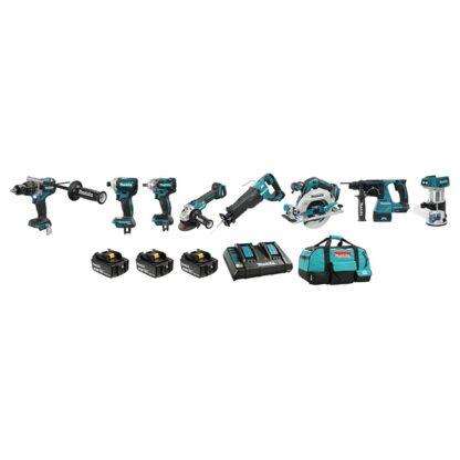 Makita DLX8025PT 18V LXT 8 Tool Combo Kit