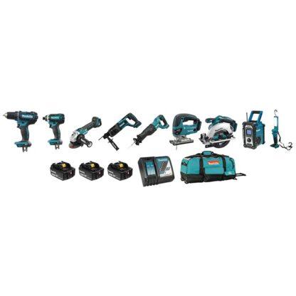 Makita DLX9004M 18V LXT 9 Tool Combo Kit