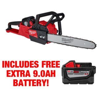 Milwaukee 2727-21HD M18 FUEL Chainsaw Kit FREE BATTERY