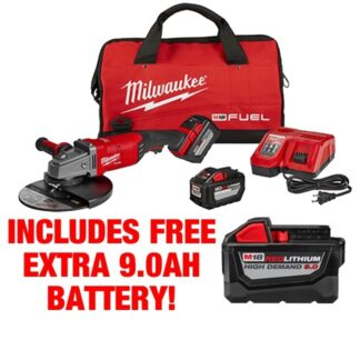 Milwaukee 2785-22HD M18 FUEL Large Angle Grinder Kit FREE BATTERY