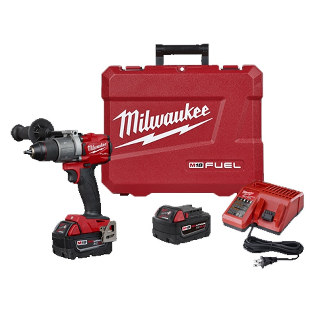 Milwaukee 2804 22 M18 Fuel 1 2 Quot Hammer Drill Kit Bc Fasteners