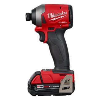 "Milwaukee 2853-22CT M18 FUEL 1/4"" Hex Impact Driver Kit"