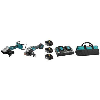 Makita DLX2270PT1 18V 5.0Ah LXT 2 Tool Combo Kit