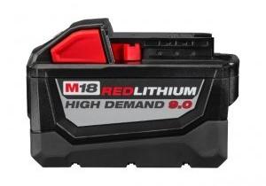 Milwaukee 48-11-1890 M18 High Demand 9.0Ah Battery Pack
